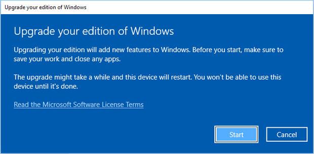 Comment migrer de Windows 10 Home à Pro gratuitement