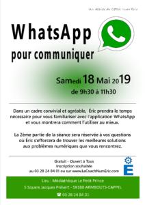 2019-05-18-WhatsApp pour communiquer