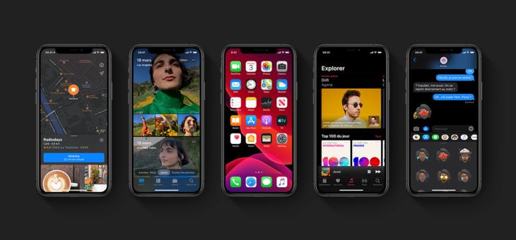 iOS 13 – Un nouveau Look