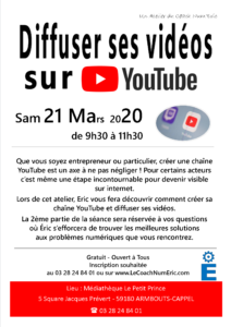 2020-03-21-Diffuser ses videos sur Youtube
