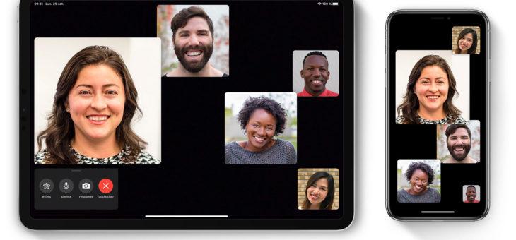 Utilisation de FaceTime en groupe sur votre iPhone, iPad et iPodtouch – Assistance Apple