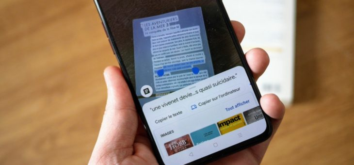 Google Lens : voilà comment copier du texte imprimé vers votre ordinateur