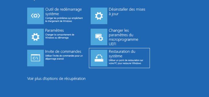 Windows 10 : comment restaurer le système en quelques minutes sans tout réinstaller ?